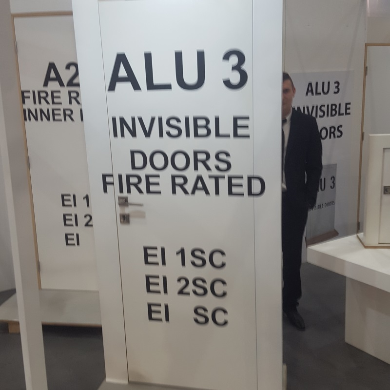 INVISIBLE DOOR FIRE RATED